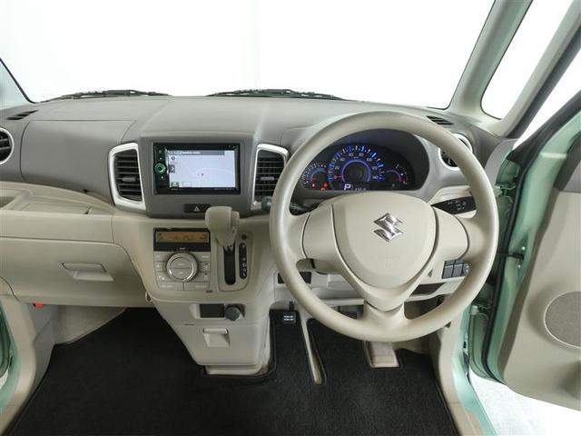 G ベンチシート スマートキー ワンセグナビ ワンオーナー車 CD/DVD再生付きオートエアコン ABS付き エアバッグ付 パワステ パワーウィンドウ(5枚目)