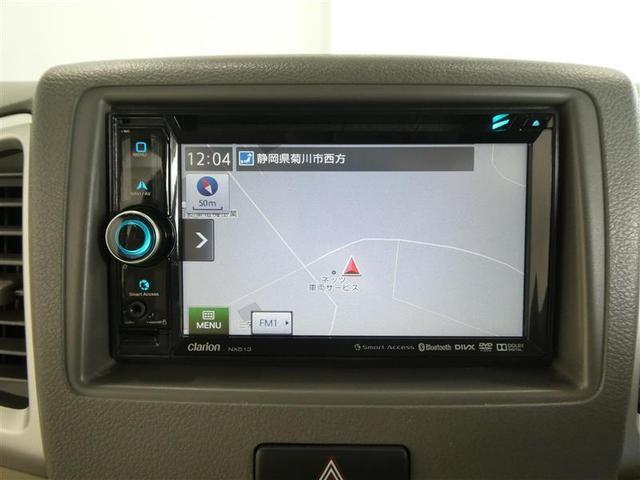 G ベンチシート スマートキー ワンセグナビ ワンオーナー車 CD/DVD再生付きオートエアコン ABS付き エアバッグ付 パワステ パワーウィンドウ(7枚目)