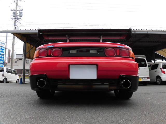 GT 5速ターボ レカロシート 社外バンパー リヤウイング(3枚目)