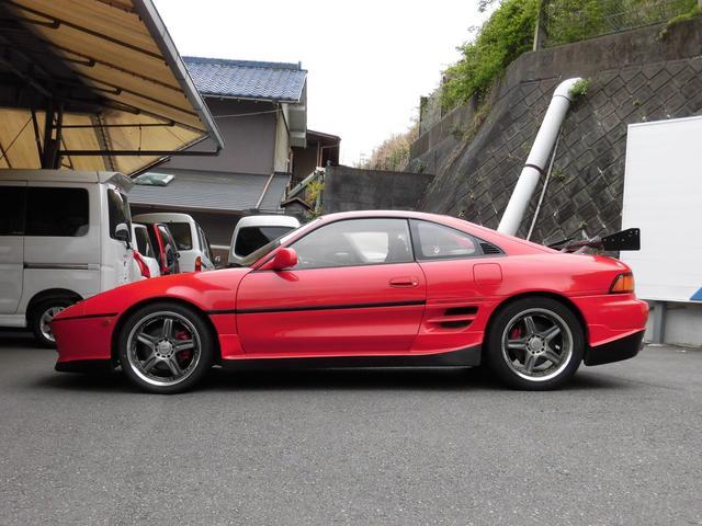 GT 5速ターボ レカロシート 社外バンパー リヤウイング(5枚目)