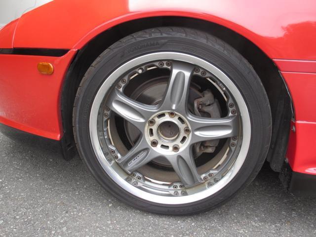 GT 5速ターボ レカロシート 社外バンパー リヤウイング(19枚目)