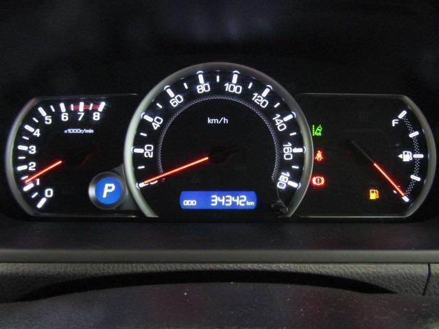 走行距離はおよそ34,000kmです。