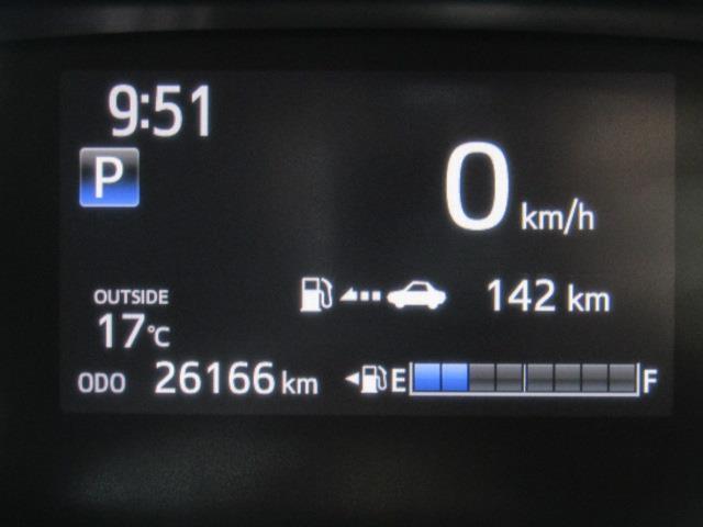 走行距離は少なく、およそ26,000kmです。