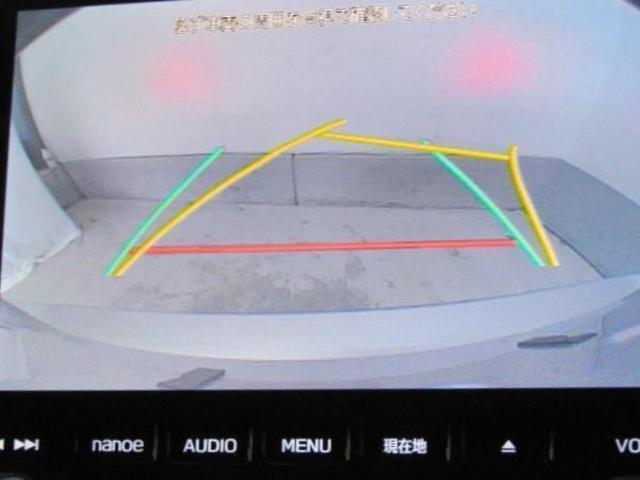 バックモニターが装備されています。目視では確認しずらい車両後方を映し出してくれるので、車庫入れや縦列駐車も安心ですね!