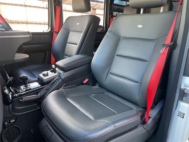 G350d デジーノマヌファクトゥーアエディション 1オーナー限定70台ミスティックホワイトIIサンルーフ純正ドラレコ純正ドアバイザーETC(21枚目)