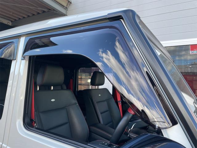 G350d デジーノマヌファクトゥーアエディション 1オーナー限定70台ミスティックホワイトIIサンルーフ純正ドラレコ純正ドアバイザーETC(30枚目)