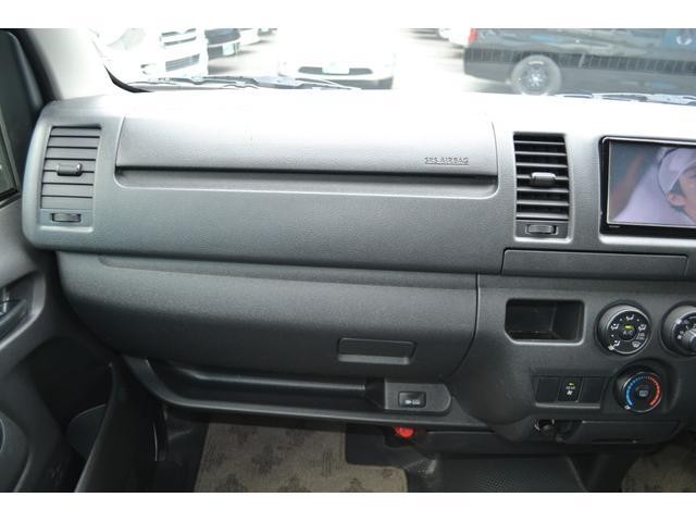 ロングDX GLパッケージ 前後同色バンパー 電動格納ドアミラー リアエアコン リアヒーター フルセグ地デジメモリーナビ フリップダウンモニター TRD風LED付きフロントスポイラー サイドアンダーバー 17インチアルミホイール(29枚目)