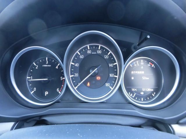 色々な情報が表示されるメーターパネルです。ステアリングスイッチの操作で、平均燃費や残燃料での走行可能距離等を表示できます。