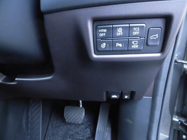 コチラでは各安全装置のON/OFFや、ステアリングヒーター、360°モニターのON/OFFもできます。