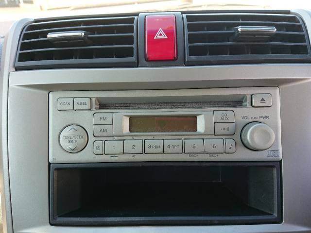 CD/FM/AMラジオが再生可能なオーディオデッキです。
