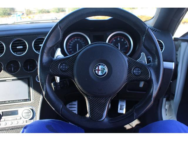 アルファロメオ アルファスパイダー 2.2JTSセレスピードホワイトエディション限定車