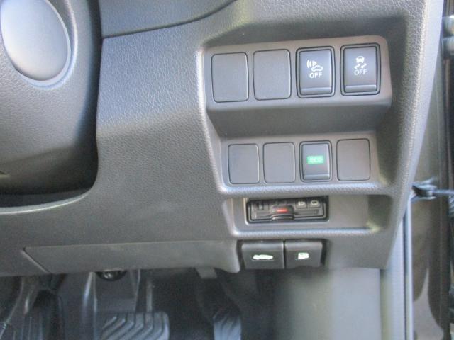 運転席回りのスイッチです。