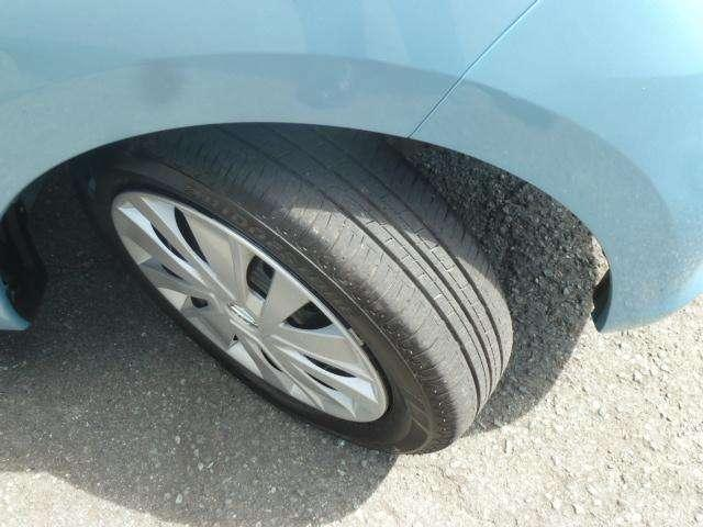 タイヤは9部山です