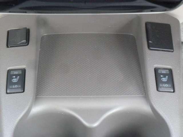 前席シートヒーター装備