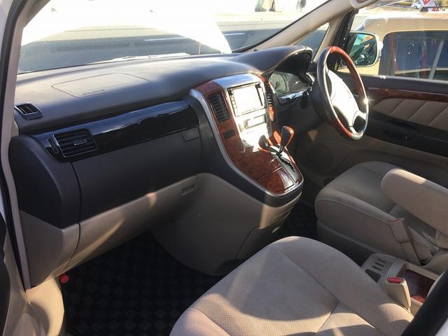 トヨタ アルファードG AX トレゾア アルカンターラバージョン