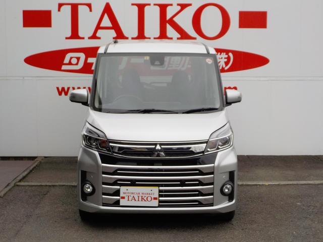 「三菱」「eKスペースカスタム」「コンパクトカー」「静岡県」の中古車4