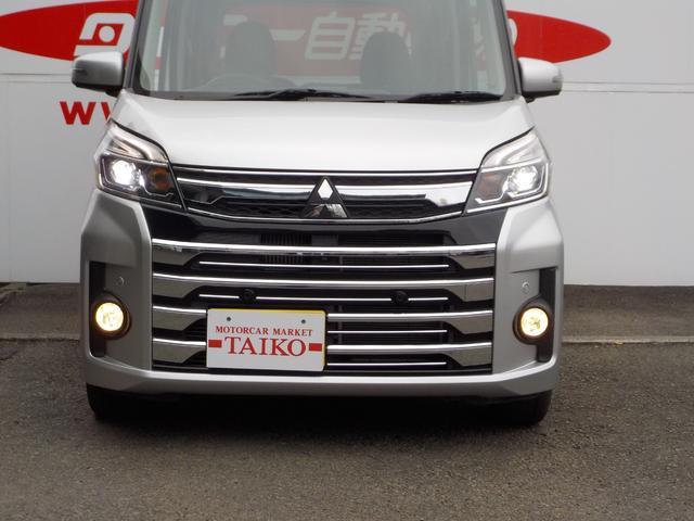 「三菱」「eKスペースカスタム」「コンパクトカー」「静岡県」の中古車9