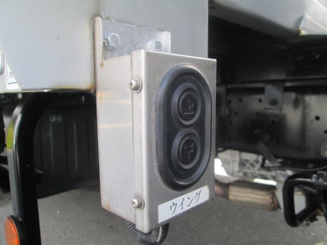 日野 デュトロ セミウイングバン 電動ウイング 3t積みバックカメラ ETC