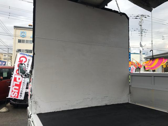 超ロング ワイド 幌 ウイング 低床トラック 6速MT(16枚目)