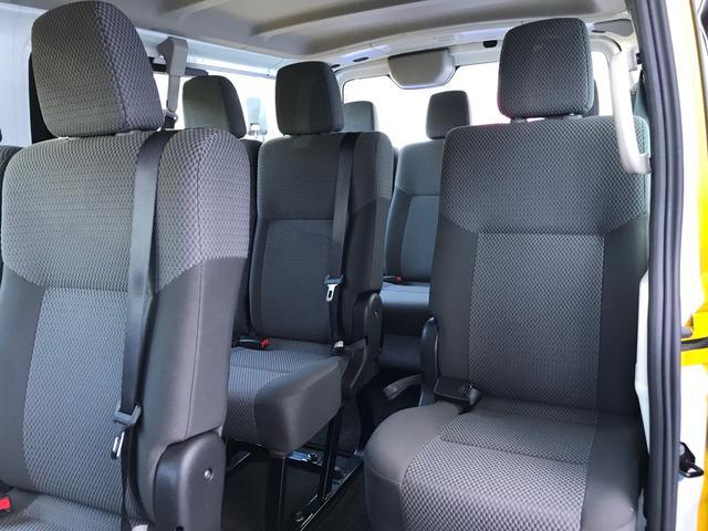DX ロング低床 Wエアコン キーレス ワンオーナー 片側スライドドア ドライブレコーダー 10人乗り(9枚目)