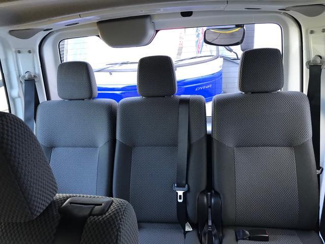 DX ロング低床 Wエアコン キーレス ワンオーナー 片側スライドドア ドライブレコーダー 10人乗り(11枚目)