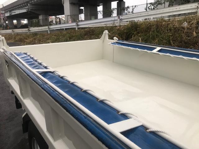 3tダンプ 低床 4ナンバー ディーゼルターボ コボレーン 5速マニュアル 3ペダル 外装鈑金塗装仕上げ済み(20枚目)