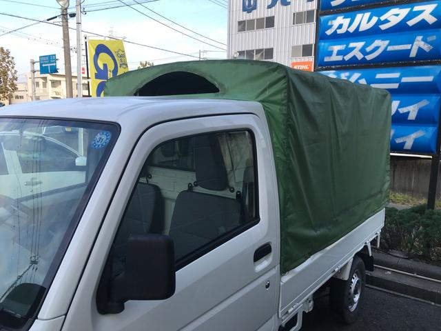 オートマ エアコン パワステ 幌取り外し可能 修復歴無 軽トラック(10枚目)