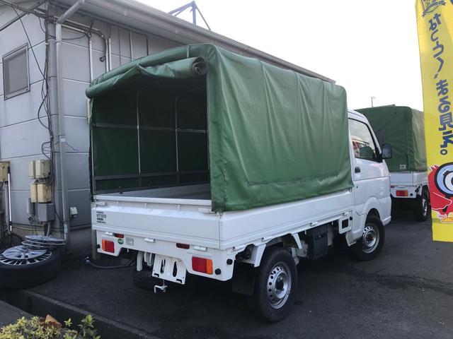 オートマ エアコン パワステ 幌取り外し可能 修復歴無 軽トラック(12枚目)