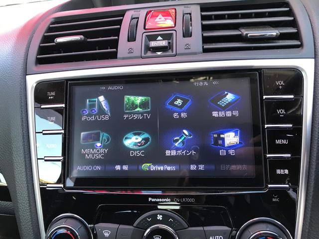 1.6GTアイサイト 4WD ナビ地デジ ETC パドルシフト アイドリングストップ クルコン レーンアシスト LEDライト 社外マフラー スタッドレス付き(5枚目)
