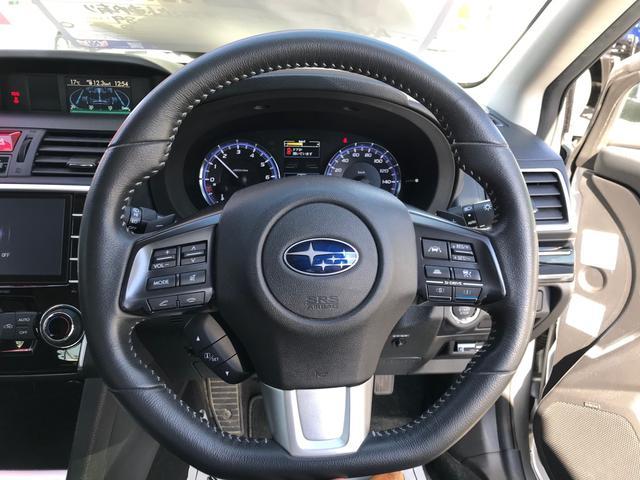 1.6GTアイサイト 4WD ナビ地デジ ETC パドルシフト アイドリングストップ クルコン レーンアシスト LEDライト 社外マフラー スタッドレス付き(19枚目)