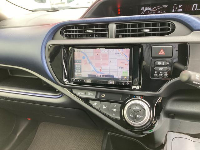 S ナビ バックカメラ キーレス付 ETC装備 パワーウインドウ CDオーディオ 電動格納ミラー レベライザー ハイブリッド車(3枚目)