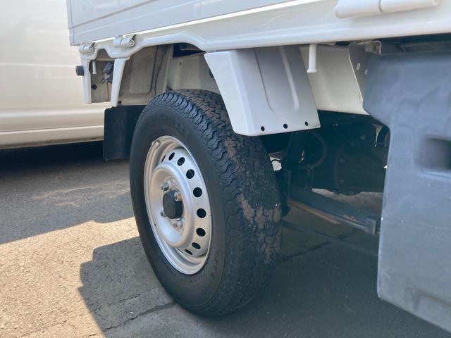 DX オートマ エアコン パワステ レベライザー エアバック 軽トラック 車検整備付き 最大積載量350kg ホワイト 三方開(14枚目)