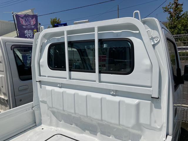 DX オートマ エアコン パワステ レベライザー エアバック 軽トラック 車検整備付き 最大積載量350kg ホワイト 三方開(15枚目)
