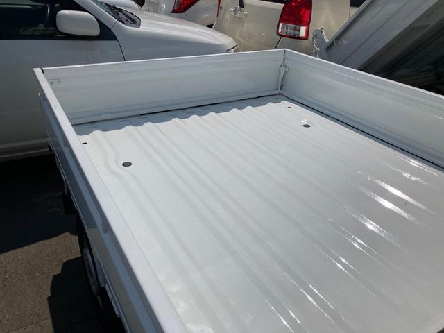 DX オートマ エアコン パワステ レベライザー エアバック 軽トラック 車検整備付き 最大積載量350kg ホワイト 三方開(16枚目)