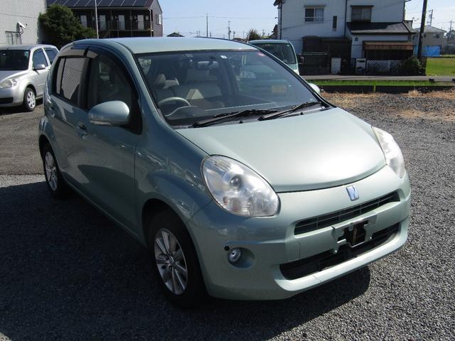 「トヨタ」「パッソ」「コンパクトカー」「静岡県」の中古車2