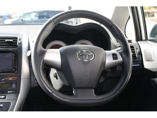 トヨタ オーリス 180G Sパッケージ 純正HDDナビ