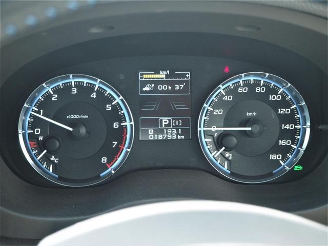 1.6GT-Sアイサイト 純正メモリーナビ・フルセグ・Bluetooth・純正18インチアルミ・ETC・LEDライト・フォグ・オートライト・オートエアコン(10枚目)