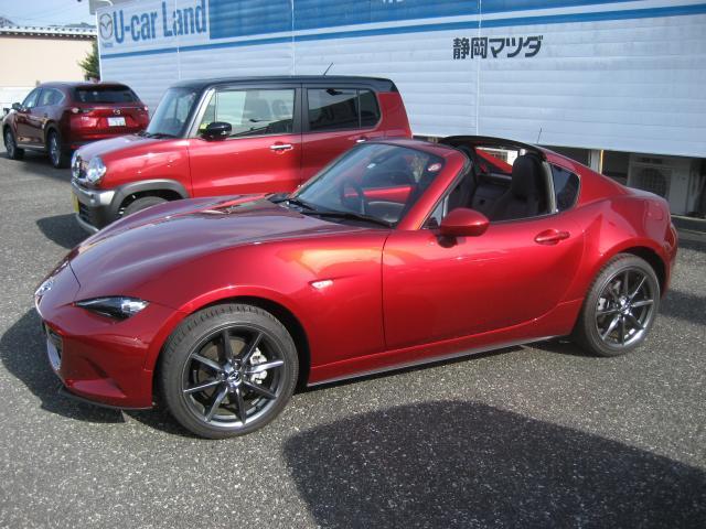 「マツダ」「ロードスター」「オープンカー」「静岡県」の中古車12