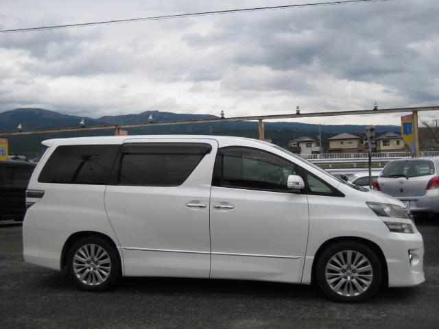 「トヨタ」「ヴェルファイア」「ミニバン・ワンボックス」「静岡県」の中古車4