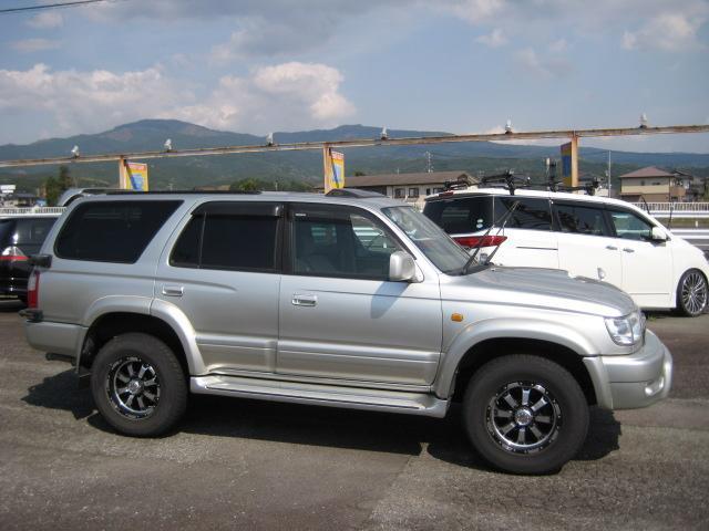 「トヨタ」「ハイラックスサーフ」「SUV・クロカン」「静岡県」の中古車4