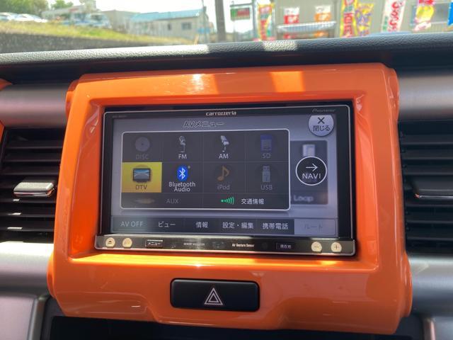 Xターボ 4WD メモリーナビフルセグTV Bluetooth ETC スマートキー プッシュスタート オートライト 純正アルミ オートエアコン(3枚目)