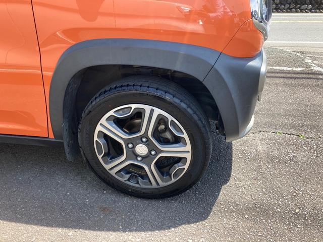 Xターボ 4WD メモリーナビフルセグTV Bluetooth ETC スマートキー プッシュスタート オートライト 純正アルミ オートエアコン(15枚目)