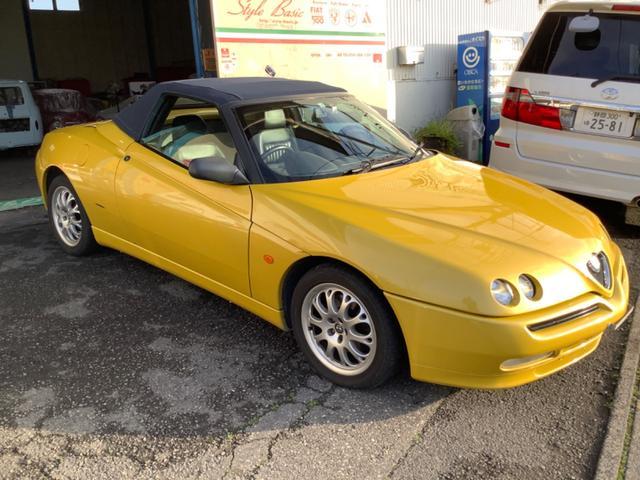 「アルファロメオ」「アルファスパイダー」「オープンカー」「静岡県」の中古車4