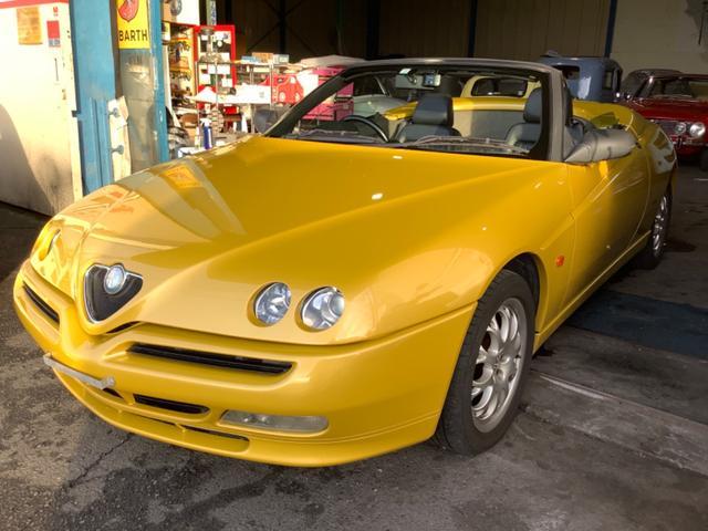 「アルファロメオ」「アルファスパイダー」「オープンカー」「静岡県」の中古車14