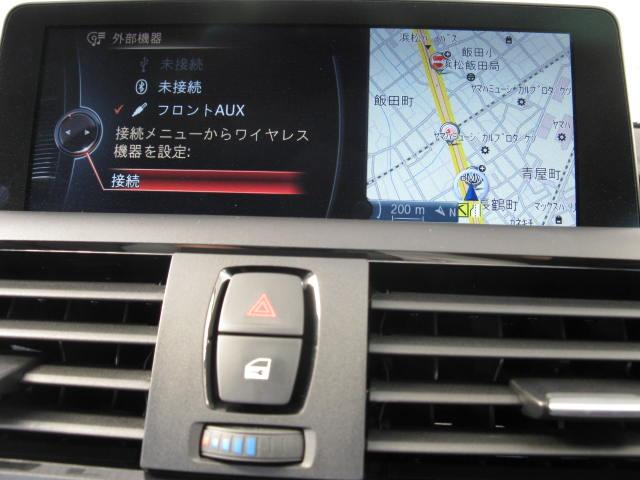 BMW BMW 116iプラスパッケージ 純正HDDナビ ホワイトインテリア