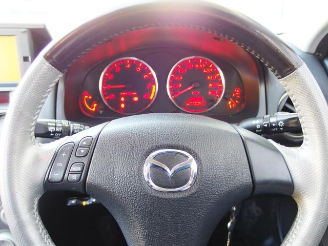 マツダ アテンザスポーツワゴン 23S オートエクゼ2本出しマフラー HIDヘッドライト