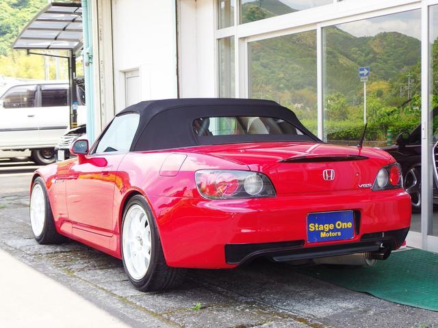 タイプV ENKEI17AW エナペタル車高調 赤革レカロ(5枚目)