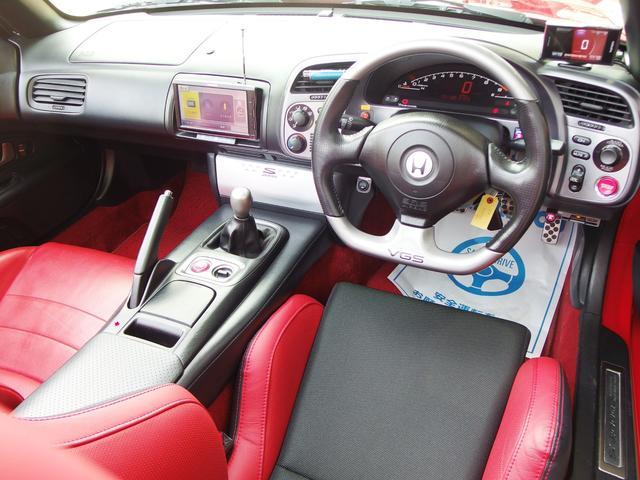 タイプV ENKEI17AW エナペタル車高調 赤革レカロ(9枚目)