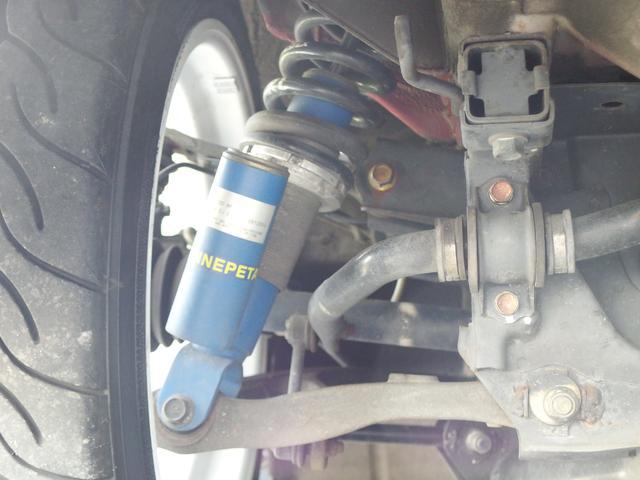 タイプV ENKEI17AW エナペタル車高調 赤革レカロ(20枚目)
