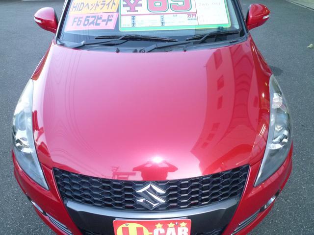 「スズキ」「スイフトスポーツ」「コンパクトカー」「静岡県」の中古車7
